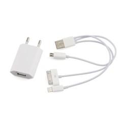 Φορτιστής USB 4 σε 1 για iphone 4/4s/5/5s/6 868 OEM