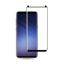 Tempered Glass (Full Cover 93%) 9H 0.3mm Black for Samsung Galaxy S9 GL254