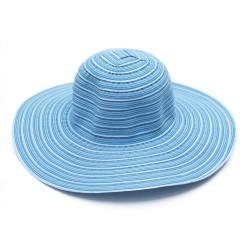 Υφασμάτινο καπέλο ριγέ γαλάζιο 619 OEM