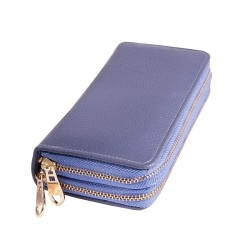 Πορτοφόλι μώβ διπλό 960 OEM