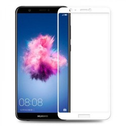 TEMPERED GLASS HUAWEI P SMART FULL COVER WHITE GL259