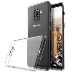 OEM Back Cover Σιλικόνης 0.3 Διάφανο (Galaxy A8/Α5 2018) 100.0280