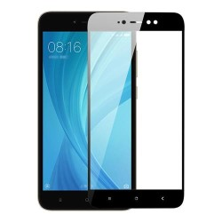 TEMPERED GLASS (FULL COVER)  XIAOMI REDMI S2 BLACK GL271