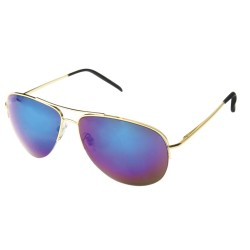 Aviator mirror Gold Blue...