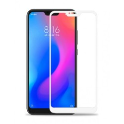 Full Cover TEMPERED GLASS XIAOMI Mi A2 LITE / REDMI 6 PRO White GL287