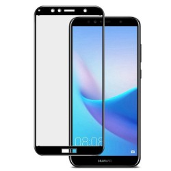 Full Tempered Glass Huawei Y6 (2018) / Y6 PRIME (2018)  Black GL298