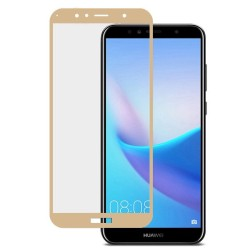 Full Tempered Glass Huawei Y6 (2018) / Y6 PRIME (2018) GOLD GL299