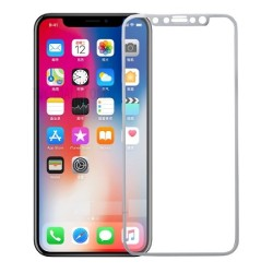 Tempered Glass 9H Για Iphone X Full Cover_White GL270