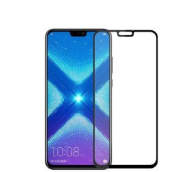 TEMPERED GLASS HUAWEI HONOR 8X FULL COVER BLACK FULL GLUE GL341