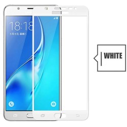 TEMPERED GLASS SAMSUNG GALAXY J6 2018 FULL COVER WHITE 5D GL313