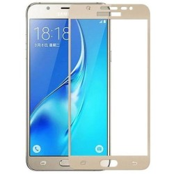 TEMPERED GLASS SAMSUNG GALAXY J4 2018 FULL COVER GOLD  GL317