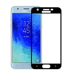TEMPERED GLASS SAMSUNG GALAXY J3 2018 FULL COVER BLACK 5D GL318
