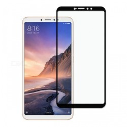 TEMPERED GLASS XIAOMI MI MAX 3 FULL COVER BLACK 5D GL345