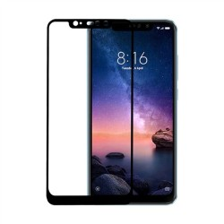 TEMPERED GLASS FULL COVER  XIAOMI REDMI NOTE 6 PRO BLACK 5D GL361