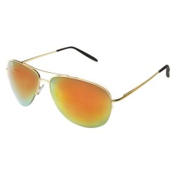 Aviator mirror Gold Orange...