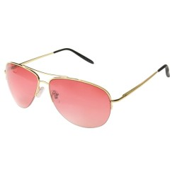 Aviator mirror Gold Pink...