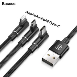 BASEUS MVP CABLE 3IN1 3.5A...