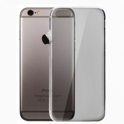 BACK COVER TPU ΓΙΑ IPHONE 6 PLUS TRANSPARENT GREY  TP620