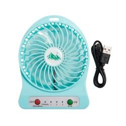 USB FAN WITH RECHARGEABLE...