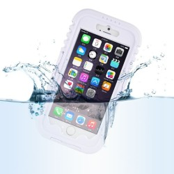 WATERPROOF  CASE ΓΙΑ IPHONE 6/6s  PLUS WHITE 0829
