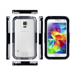 WATERPROOF CASE ΓΙΑ SAMSUNG GALAXY S6 EDGE PLUS BLACK 0834