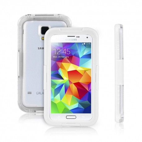 WATERPROOF  CASE ΓΙΑ SAMSUNG GALAXY S6 WHITE 0831