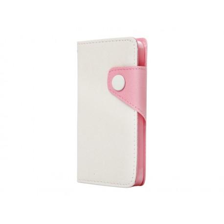 BOOK CASE ΓΙΑ IPHONE 6/6S PLUS  WHITE  IK740