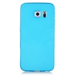 TPU BACK CASE ΓΙΑ SAMSUNG GALAXY S6 EDGE TP631 LIGHT BLUE