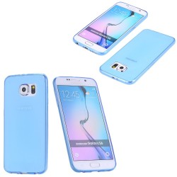 TPU BACK CASE ΓΙΑ SAMSUNG GALAXY S6 EDGE PLUS TP641 LIGHT BLUE