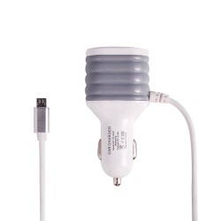CAR CHARGER 2 USB 1M TYPE C...