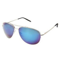 Aviator mirror Silver Blue...