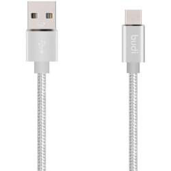 BUDI 1M 2.0 USB-A TO USB-C...