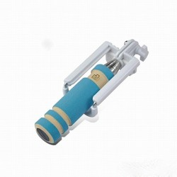 Selfie Stick  Mini Μπλε με Καλώδιο Jack 3.5mm SF122