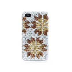 Back Cover Strass για iPhone 4/4s A114 A114 OEM