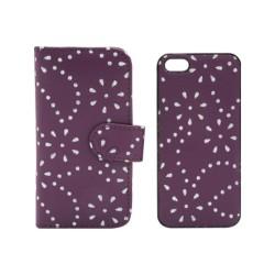 Flip Cover Strass 2 τεμάχια για iPhone 5/5s/SE IK217 OEM