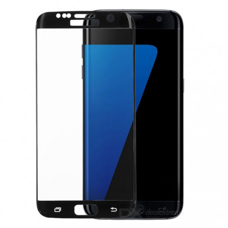 Tempered Glass για SAMSUNG GALAXY S7 EDGE BLACK FULL COVER GL94 OEM