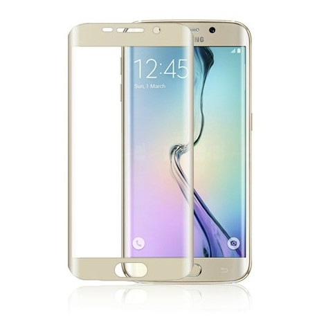Tempered Glass για Samsung Galaxy S6 Εdge Full Cover Gold GL51-Gold OEM