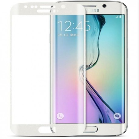 Tempered Glass για SAMSUNG GALAXY S6 EDGE PLUS White FULL COVER GL70-White OEM