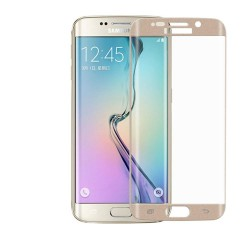 Tempered Glass για SAMSUNG GALAXY S6 EDGE PLUS Gold FULL COVER GL70-Gold OEM