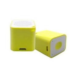 Smart Box Ηχείο Pocket Κίτρινο BS006