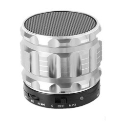 Mini Bluetooth Speaker Silver D6022