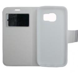 Θήκη δερματίνη Άσπρη για Samsung Galaxy S7 077802 077802 OEM