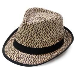 Καπέλο ψάθα καφέ 0712 OEM