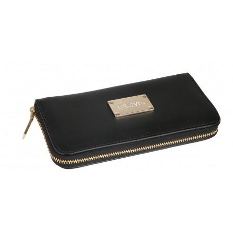 Πορτοφόλι μαύρο διπλό 985METAL OEM