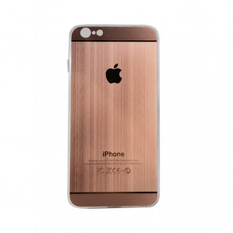 Θήκη Πλαστική Ροζ-Χρυσό για iPhone6 Plus IK916 OEM