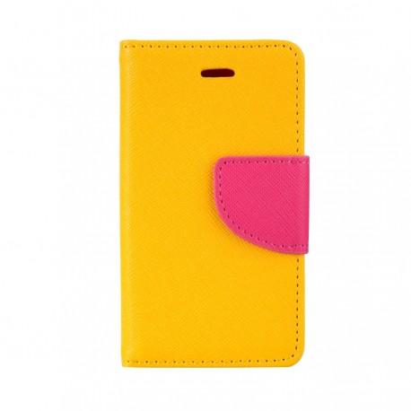 """Θήκη Δερματίνης flip """"Πορτοφόλι"""" με υποδοχή καρτών για iPhone 4s Πορτοκαλί IK435 OEM"""