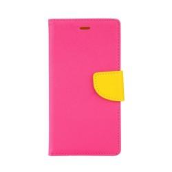 """Θήκη Δερματίνης flip """"Πορτοφόλι"""" με υποδοχή καρτών για iPhone 4s Φούξια IK636 OEM"""