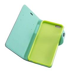 """Θήκη Δερματίνης flip """"Πορτοφόλι"""" με υποδοχή καρτών για iPhone 6s Plus Μαύρη IK738 OEM"""