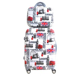 ΣΕΤ ΒΑΛΙΤΣΑ BEUATY CASE MEDIUM LONDON PRINT ST33M