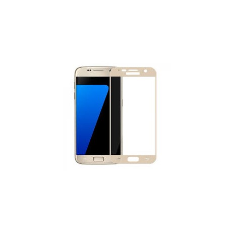 Tempered Glass για Samsung Galaxy S7 Gold GL91 OEM